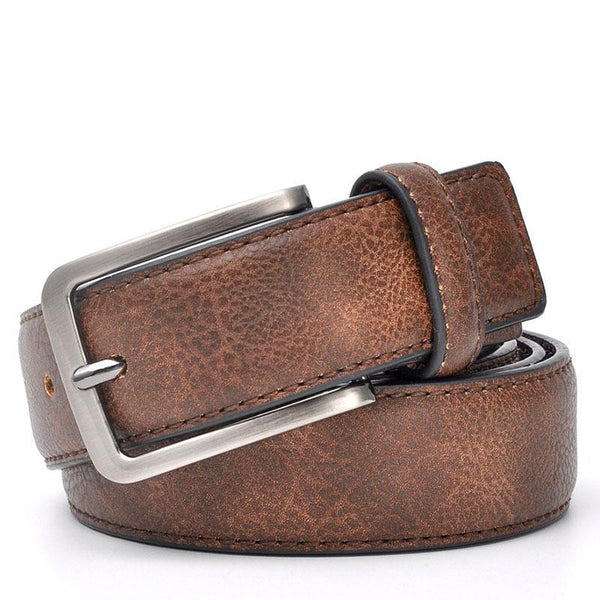 Trouser Waistband Stylish Casual Belts Men With Black Grey Dark Brown And Brown Color