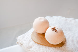 Bombe de bain à l'orange douce