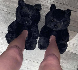 Teddy Bear Slippers - SplurgeCustoms