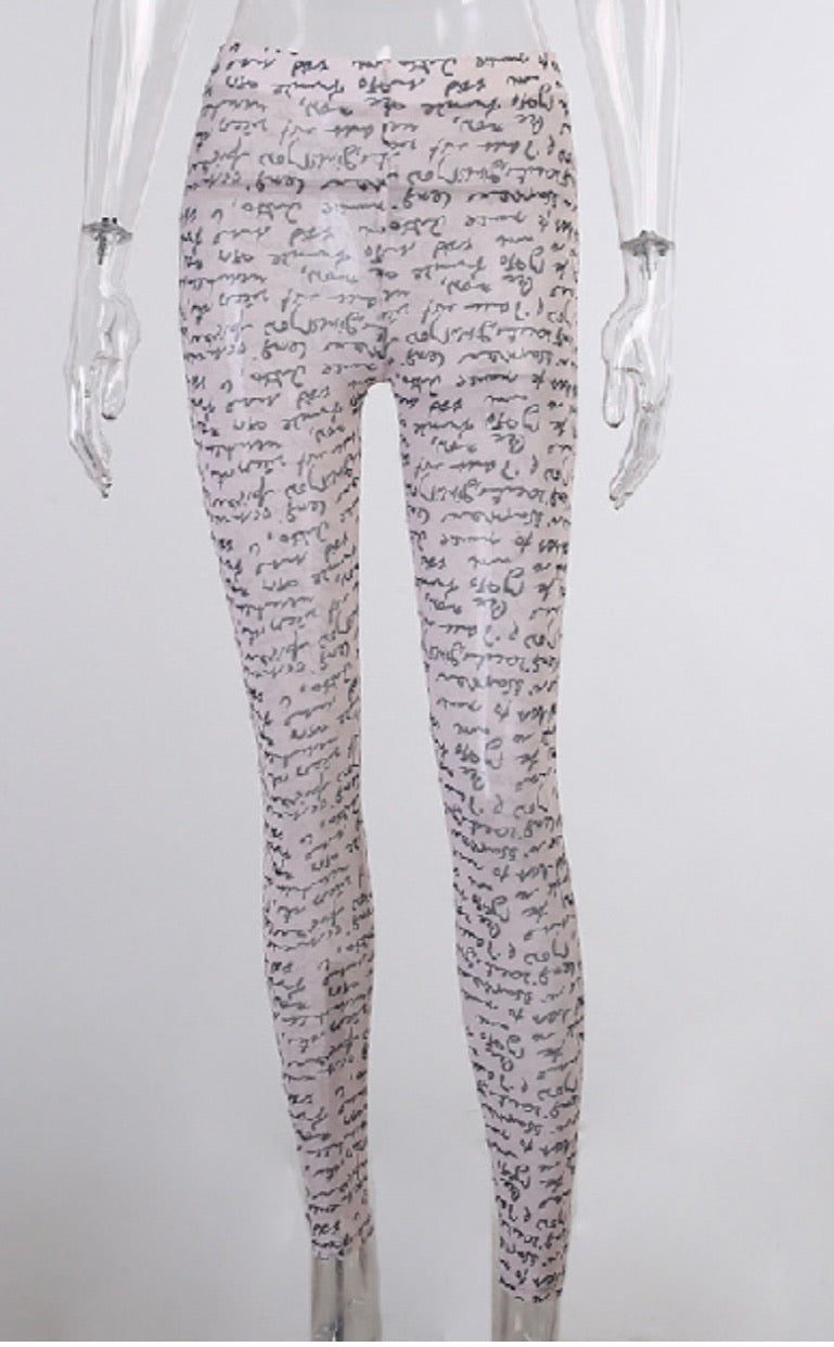 Writing on the wall Bodysuit - SplurgeCustoms