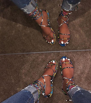 Drea Gladiator Sandals - SplurgeCustoms