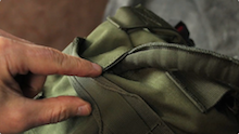Condor 3-Day Assault Pack hydration-tube-jacket