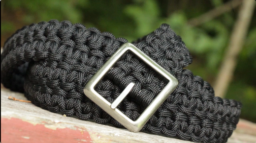 Bison paracord belt