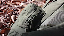 Condor 3-Day Assault Pack side-pouches-zip-opening