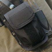 MSK-1 Survival Knife Kit Pouch is MOLLE Compatible. Fill it up with your favorite survival kit gear