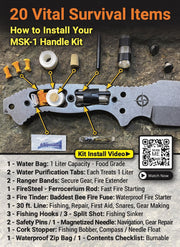 MSK-1 Handle Survival Kit 2.0