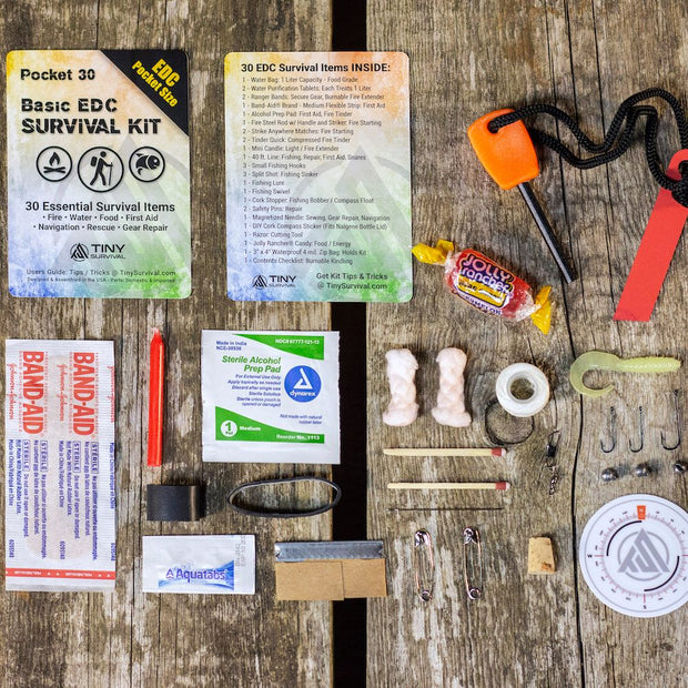 Pocket 30: Ultimate Essential - Tiny Survival Kit