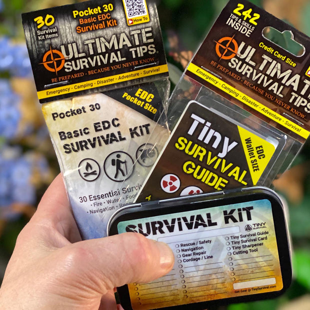 NEW! Essential EDC BASIC Survival Kit - Build Bundle