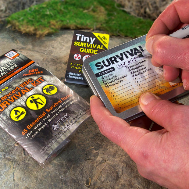 NEW! Advanced EDC - Tiny Survival Kit - Build Bundle