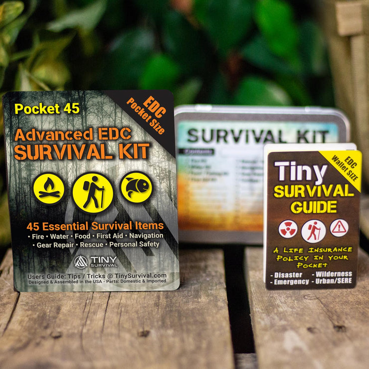 NEW! Advanced EDC Survival Kit - Build Bundle