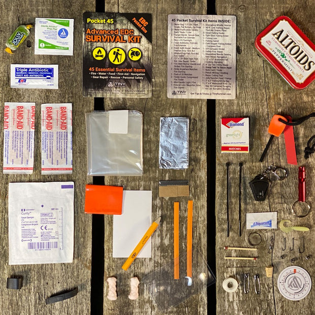 NEW! Pocket 45: Ultimate Advanced Survival Kit
