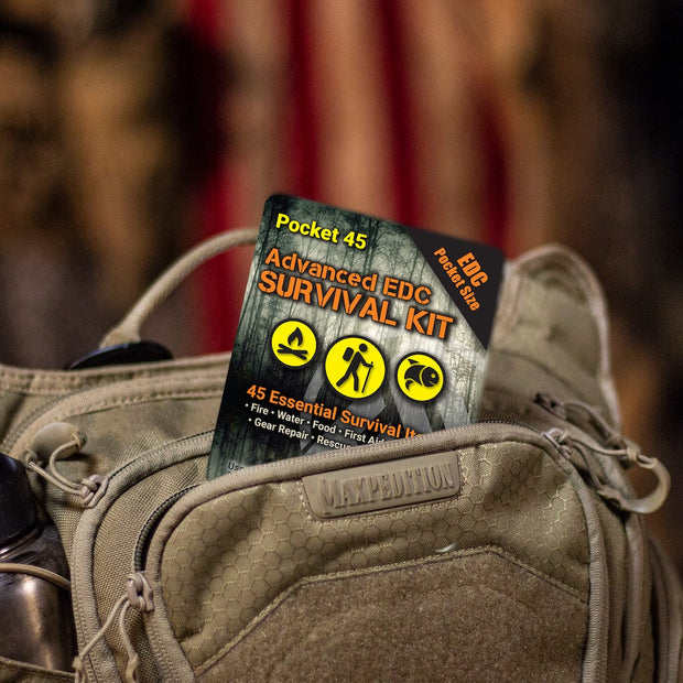 NEW! Pocket 45: Ultimate Advanced - Tiny Survival Kit
