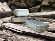 Survival Tin: Rectangle - SMALL (7.4 c.i.)