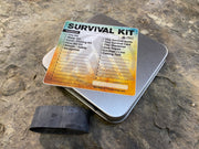 Survival Tin Kit: Square - MEDIUM (9.2 c.i.)
