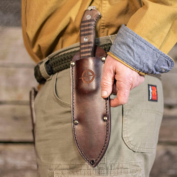 NEW! Primitive Leather Sheath (Pre-Order Special)