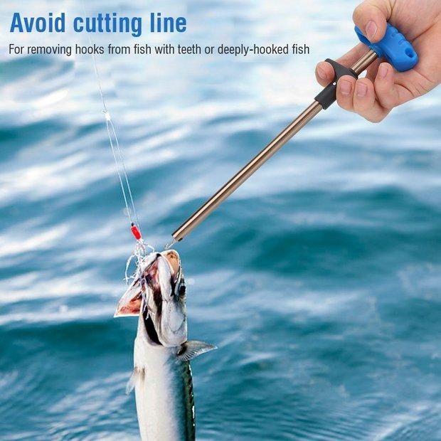 🎉 How to hook bait fish