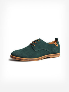 Suede in Green