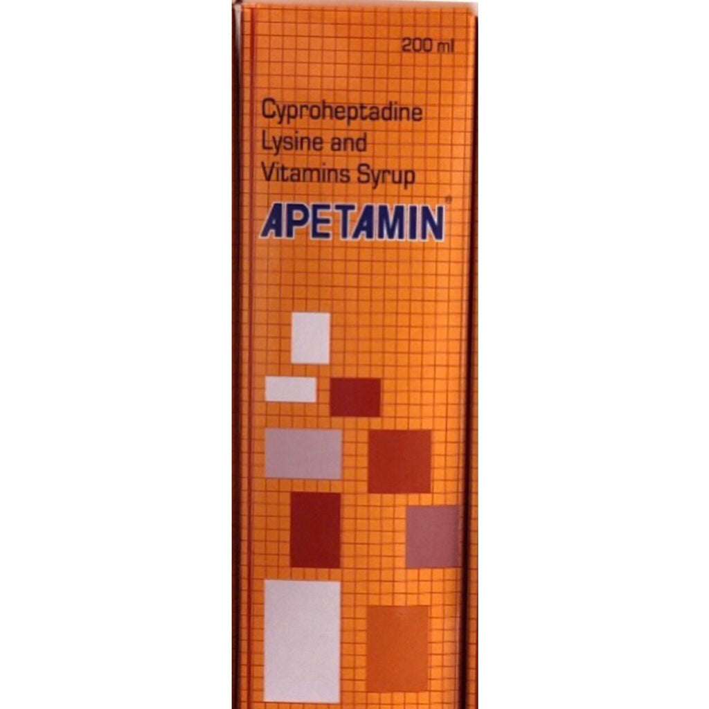 1 Bottle of Apetamin Vitamin Syrup (200ml)