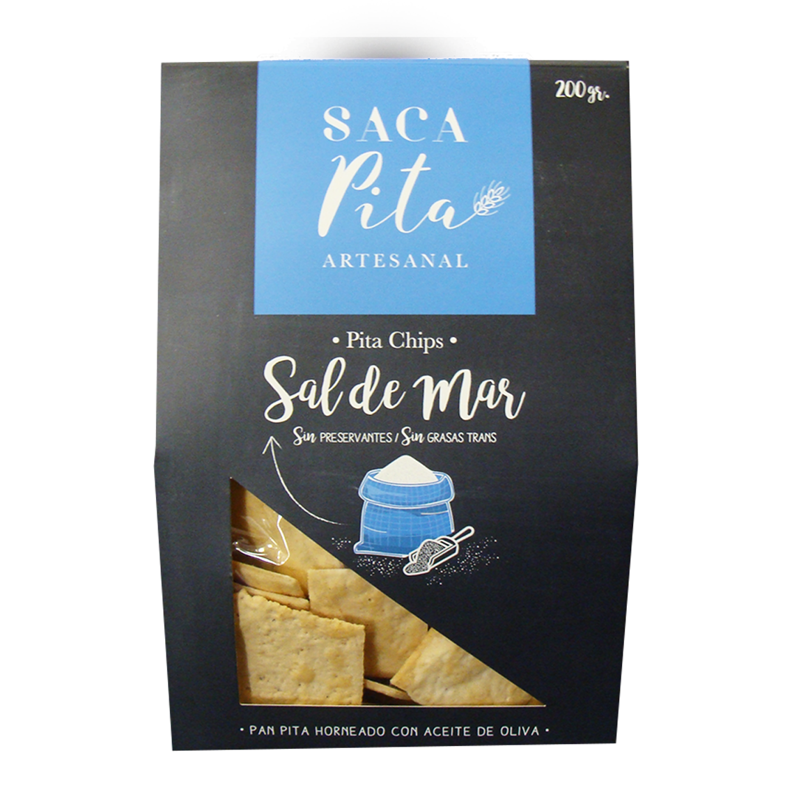 PITA CHIPS SAL DE MAR
