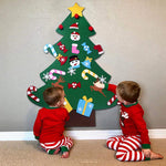 Fantastic Felt Christmas Tree For Kids