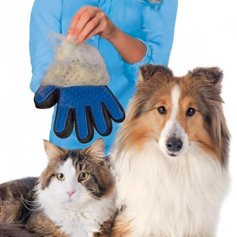 Pet Grooming Gloves For Cats and Dogs