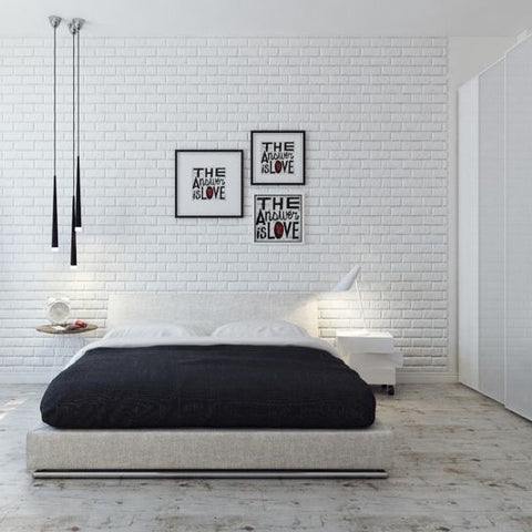 Image of Textured Brick Wallpaper