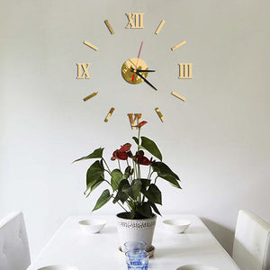 """The Roman"" Wall Clock Set"