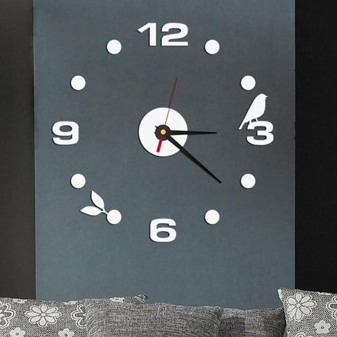"""The Blue Jay"" Wall Clock Set"