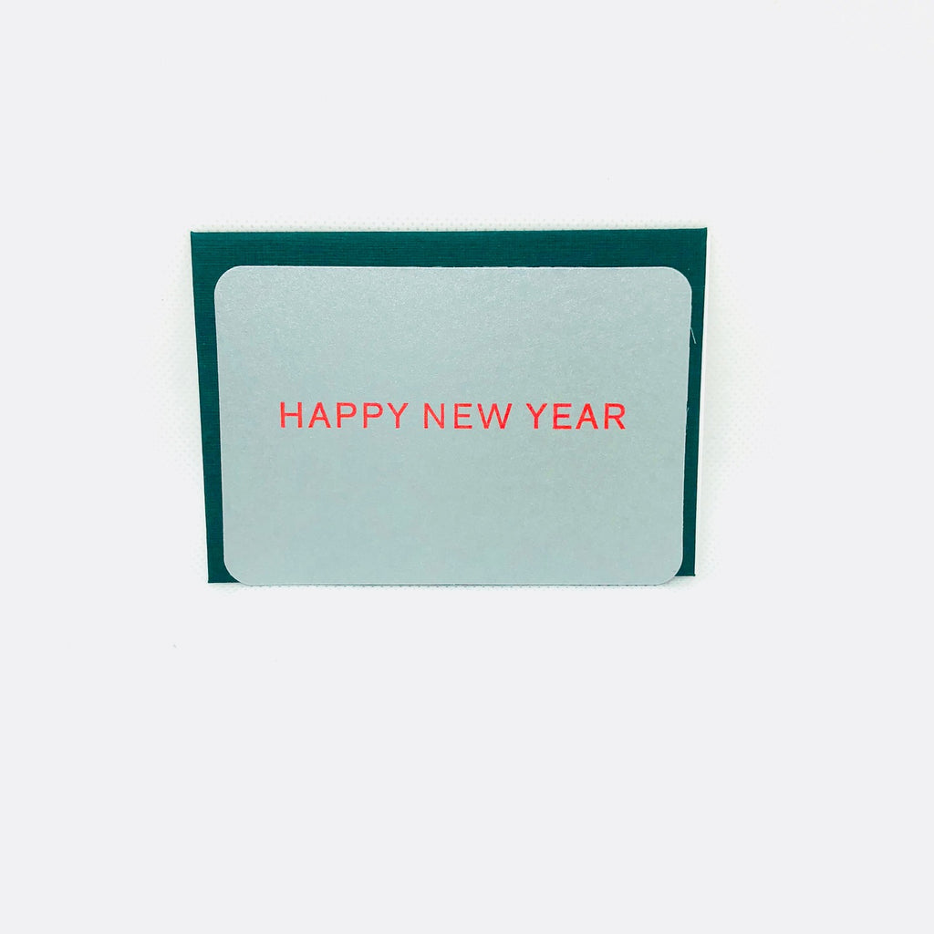 "Carte message avec enveloppe ""Happy New Year"""