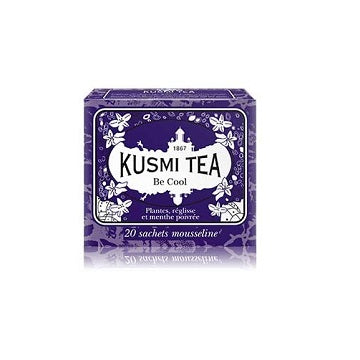 Thés, tisanes, café Kusmi Tea - Be Cool - L'essentiel