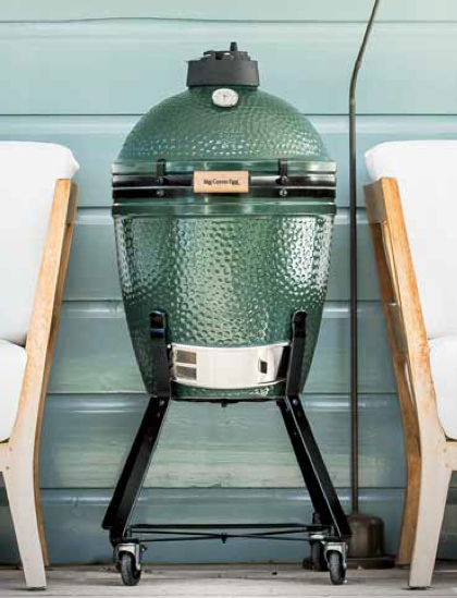 Large Big Green Egg  - Pack original chariot