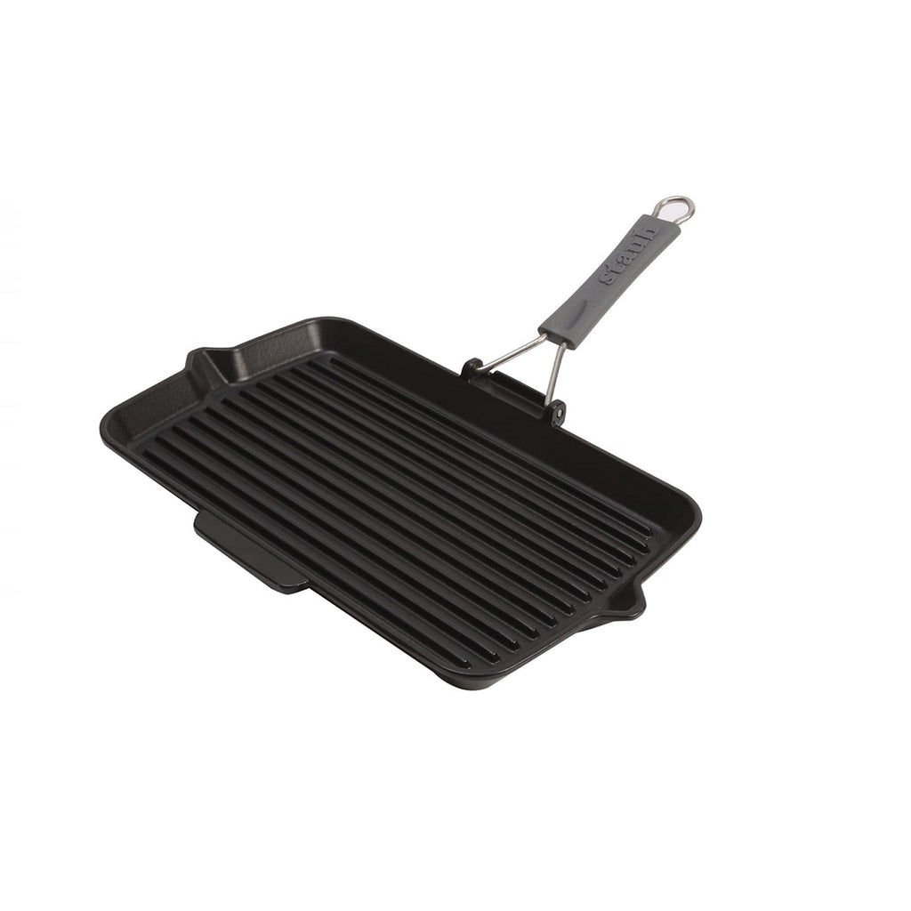 Cuisson Grill en fonte rectangle - L'essentiel