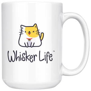 Whisker Life with Ryko - Large 15oz Coffee Mug