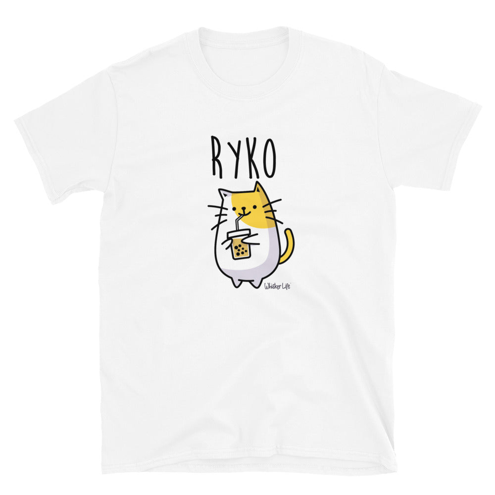 Ryko Loves Coffee - Short-Sleeve Women's T-Shirt