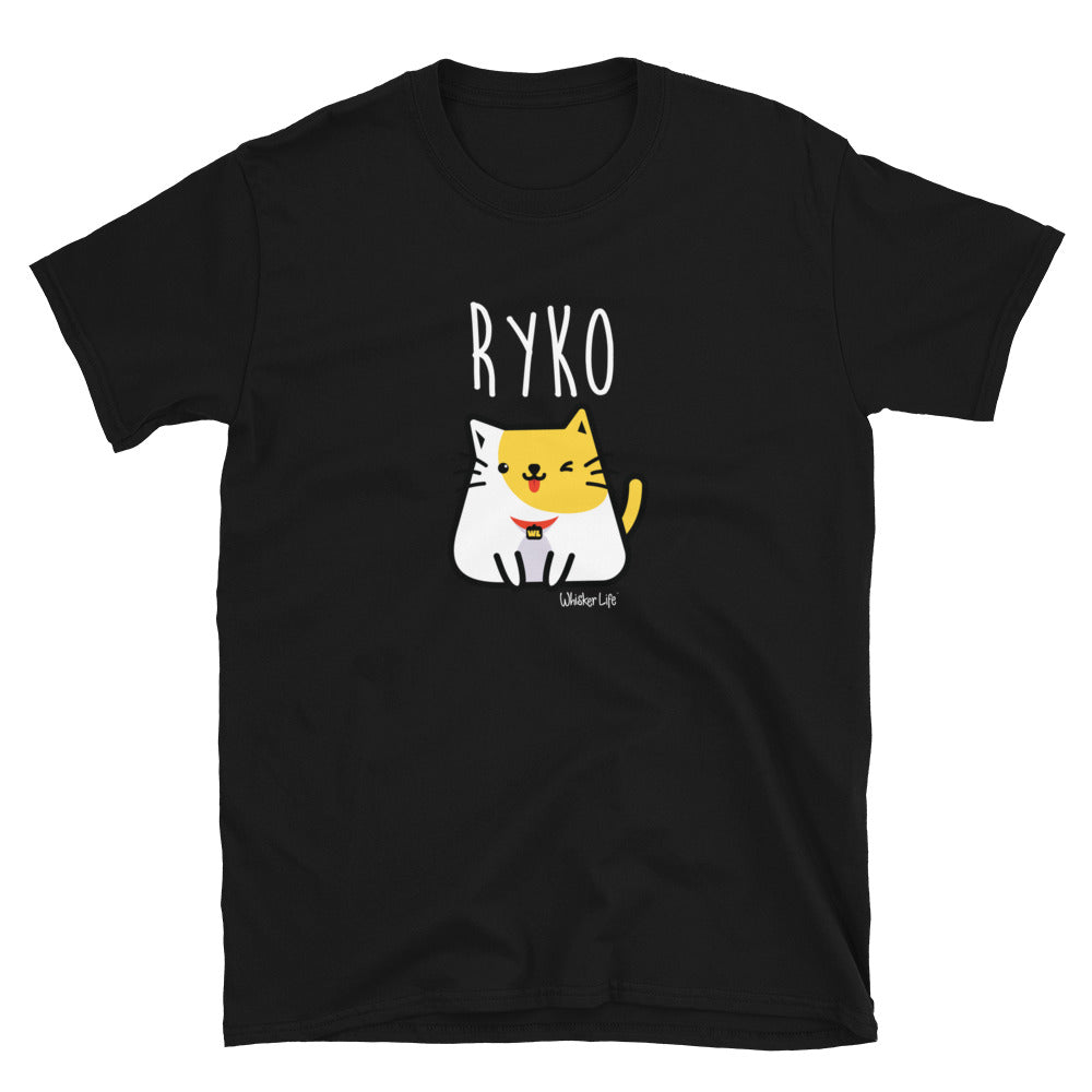 Ryko Sitting - Short-Sleeve Mens T-Shirt