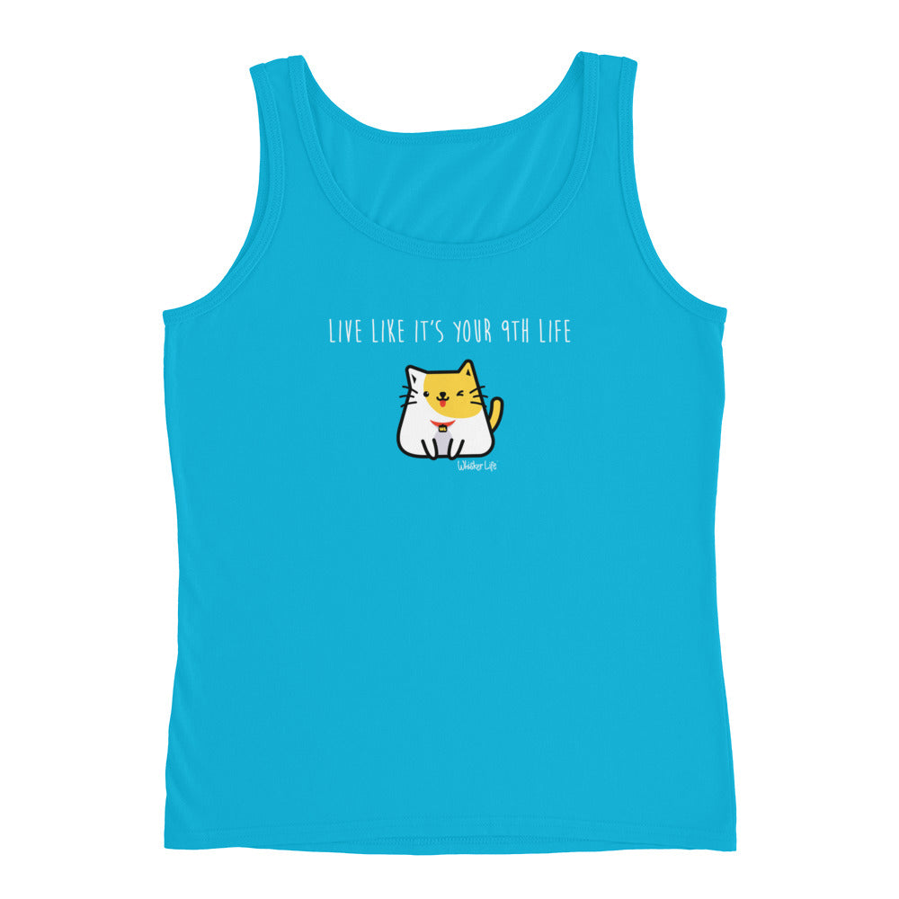 Live Like It's Your 9th Life - Ladies' Tank