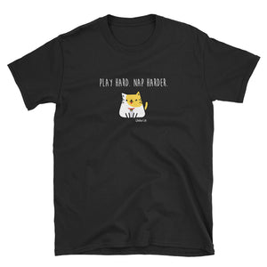 Ryko - Play Hard Nap Harder - Short-Sleeve Womens T-Shirt