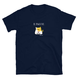 Ryko - Be Pawsitive Short-Sleeve Mens T-Shirt