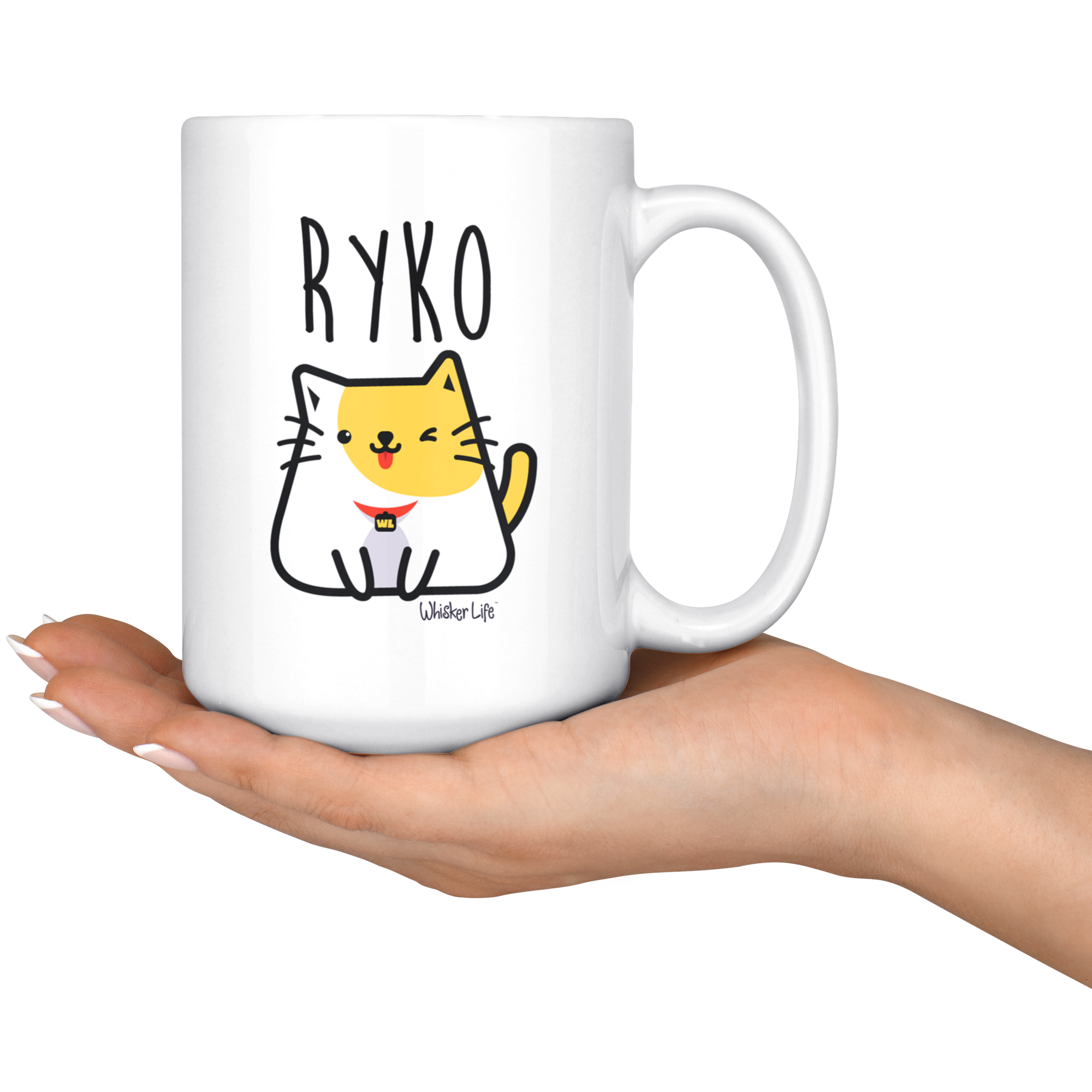 Ryko Sitting - Large 15oz Coffee Mug