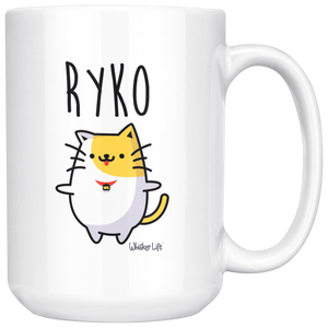 Ryko Hugs - Large 15oz Coffee Mug
