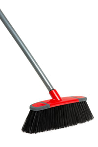 Klean Stiff inclined broom head Red/Grey