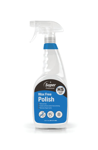 Wax Free Polish 6 x 750ml