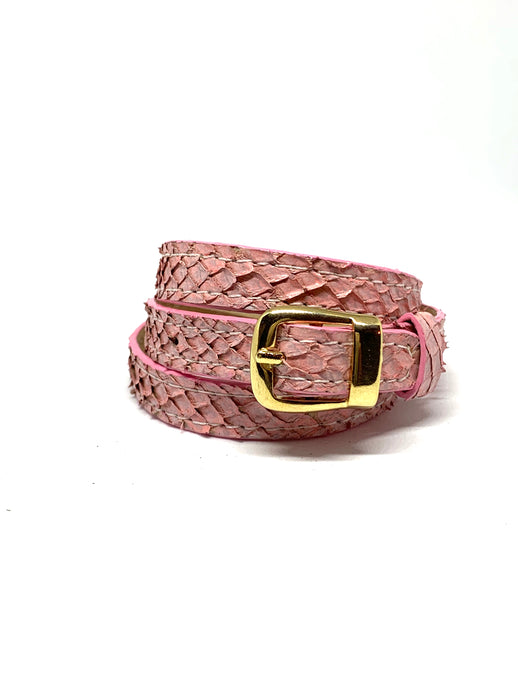 Angie Wrap Around Bracelet in Cotton Candy