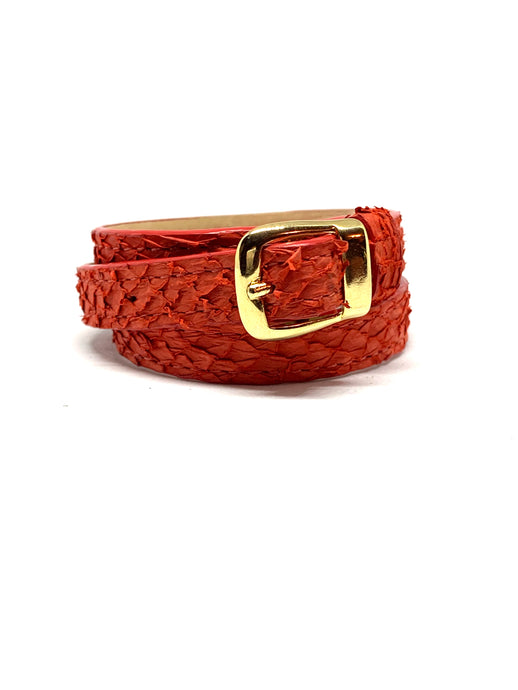 Angie Wrap Around Bracelet in Red Pepper
