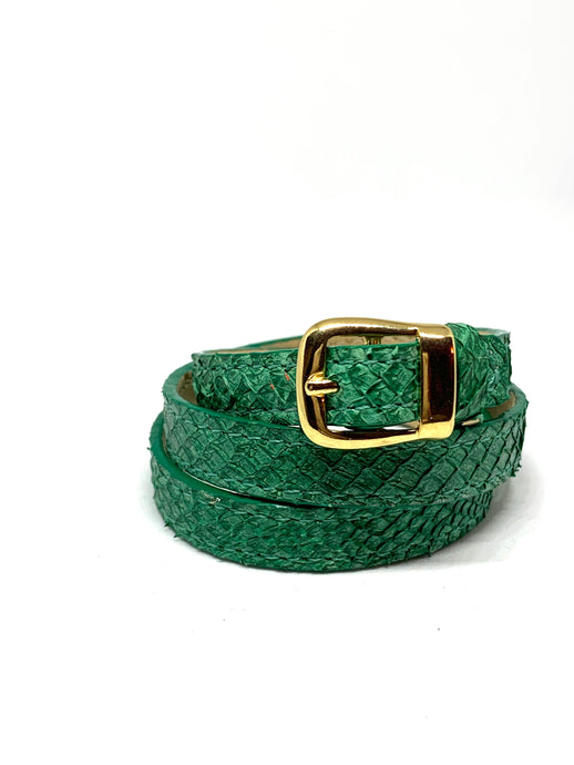Angie Wrap Around Bracelet in Emerald