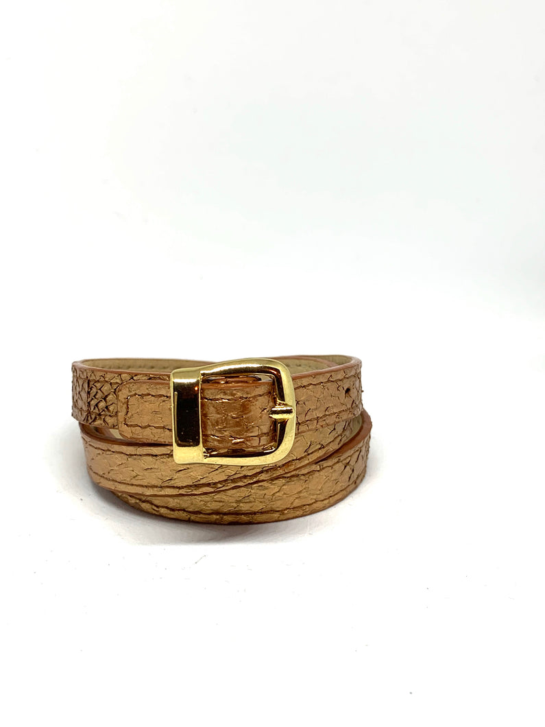 Angie Wrap Around Bracelet in Copper