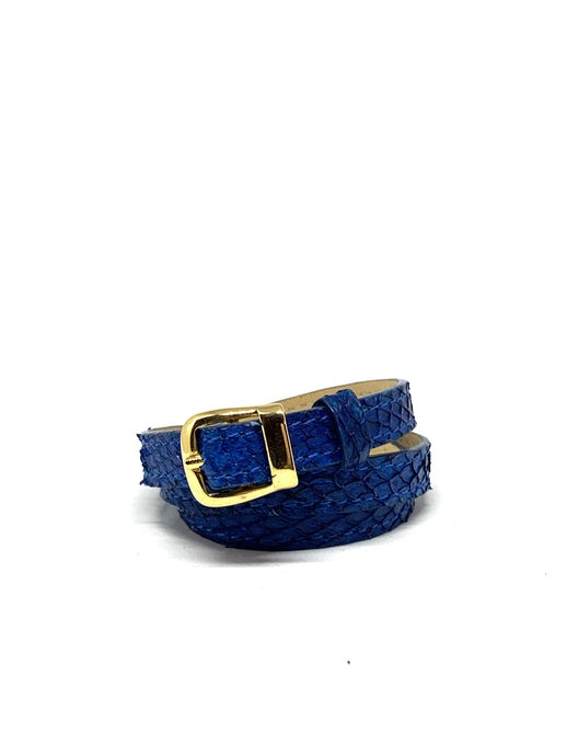 Angie Wrap Around Bracelet in King's Blue