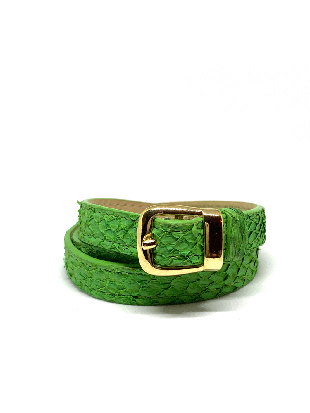 Angie Wrap Around Bracelet in Shamrock