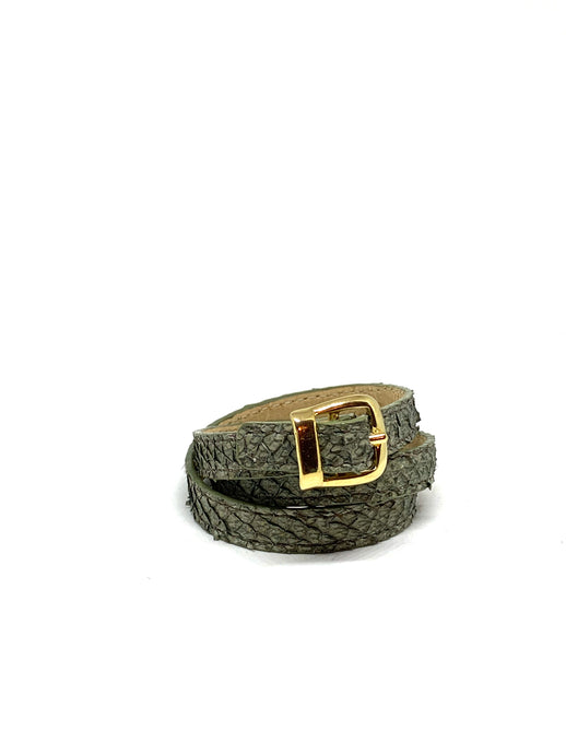 Angie Wrap Around Bracelet in Olive