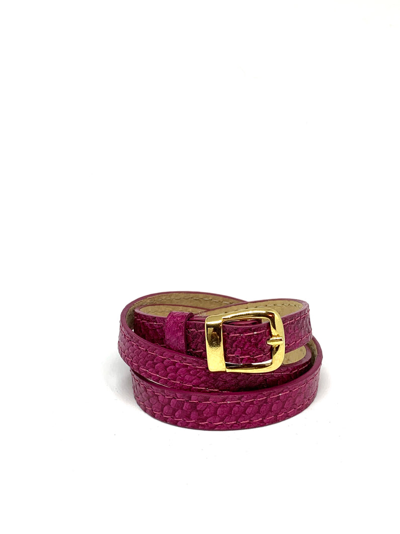 Angie Wrap Around Bracelet in Bougainvillea